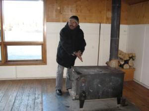 D'Gary, Freezing in the Yukon!